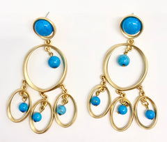 Chime EA Gold, Turquoise