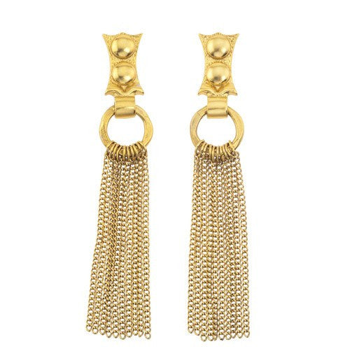 CEASAR CHAIN EARRINGS