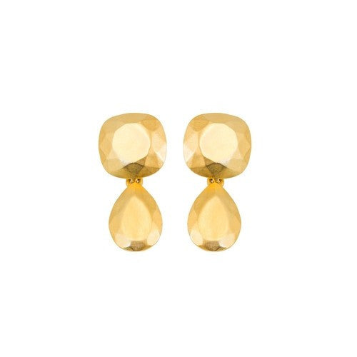 Chisel Double Earring