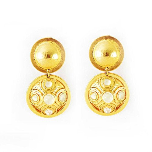 CONTESSA DOUBLE EARRINGS