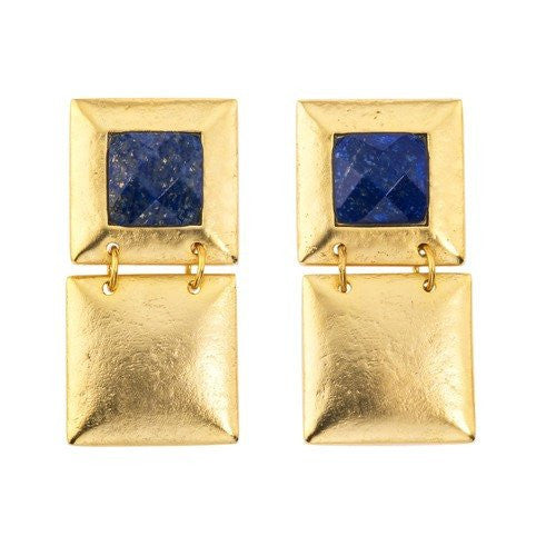 FLAPPER DOUBLE EARRINGS