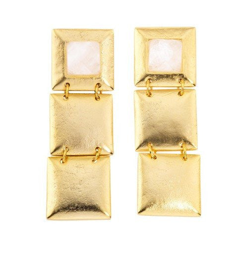 FLAPPER TRIPLE EARRINGS