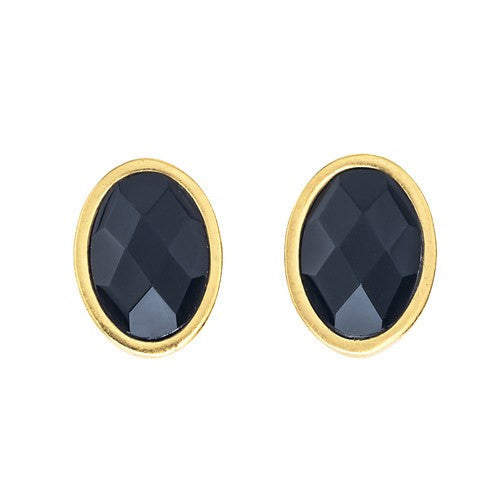 NUGGET STONE EARRINGS