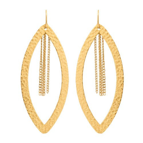 PARIS SINGLE EYE CHAIN EARRINGS