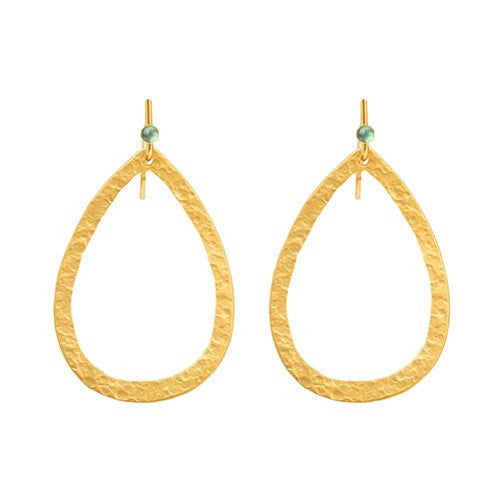 PARIS SINGLE LARGE DROP EARRING