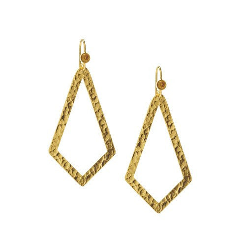 PARIS SINGLE TRIANGLE EARRINGS