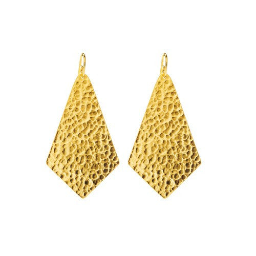 PARIS SINGLE TRIANGLE SOLID EARRINGS