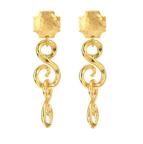 SIGNATURE DOUBLE EARRINGS