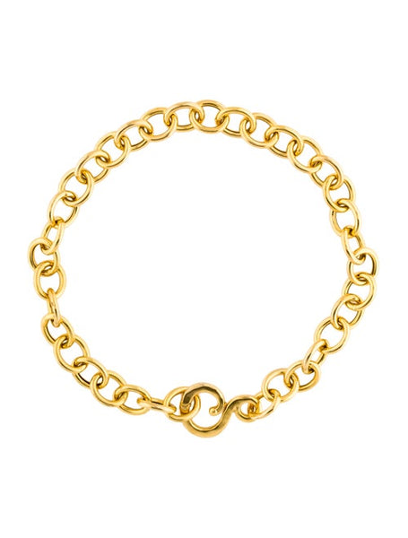 Pebble 18K Yellow Gold Bracelet