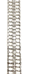 Ladder 18K White Gold Bracelet