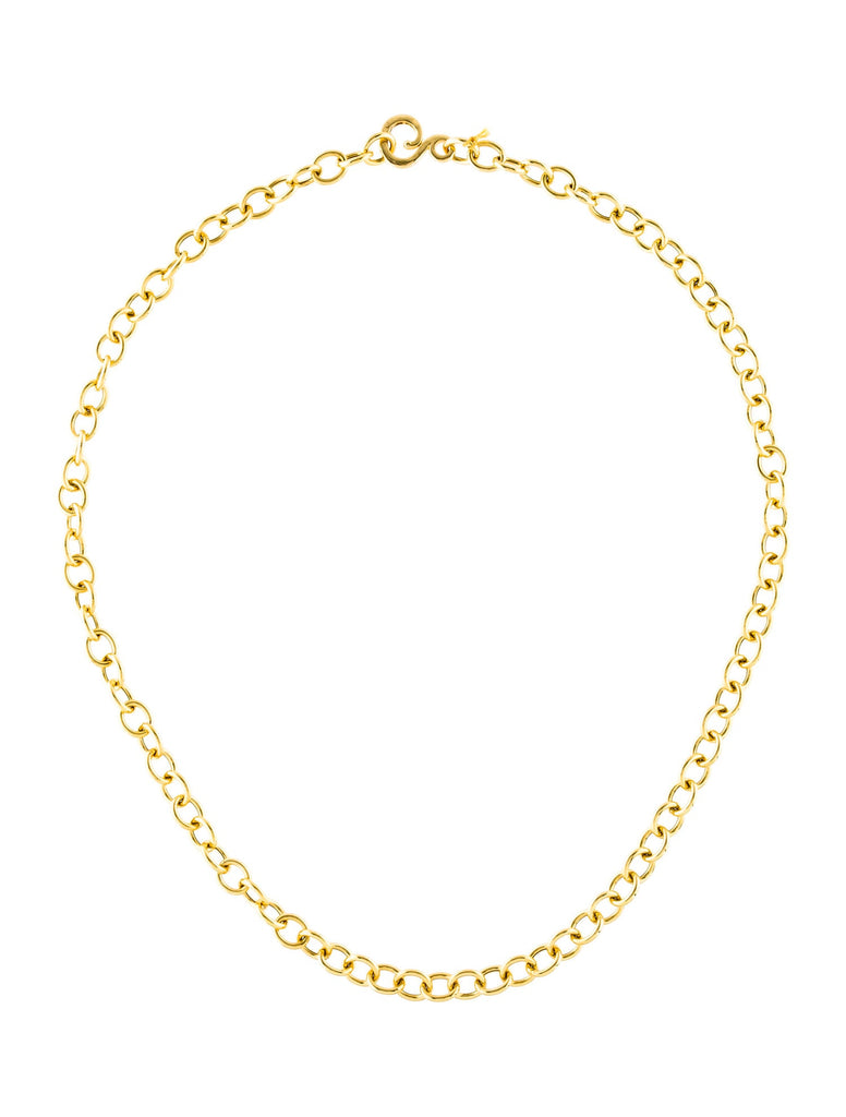 Pebble 18K Yellow Gold Necklace