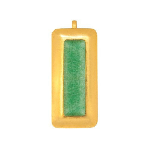 CRUSH RECTANGLE PENDANT