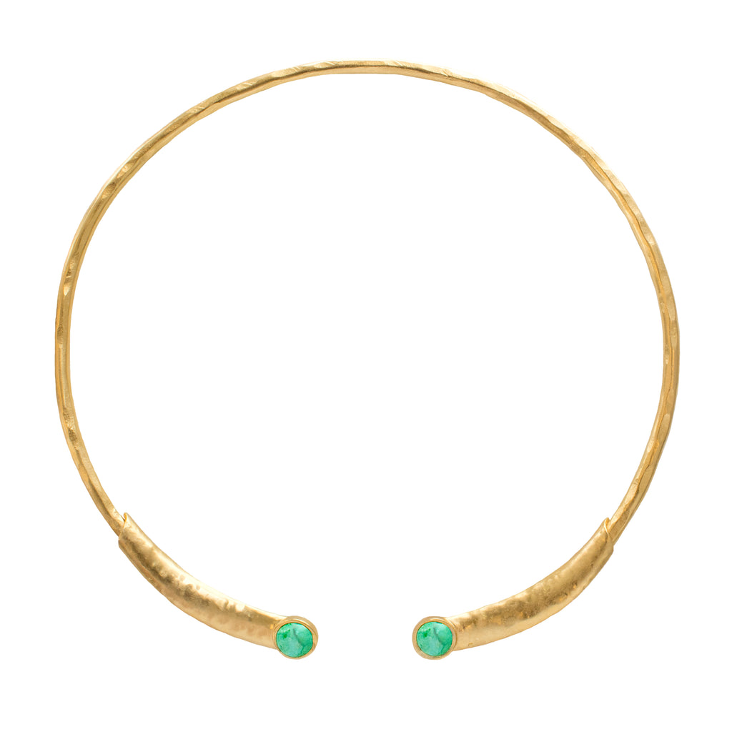 Dream Catcher Neck Wire Gold