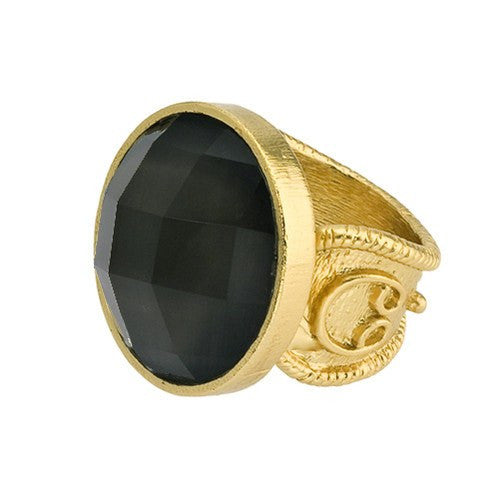 CASABLANCA FACETED RING