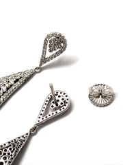 Saint-Tropez 18K White Gold Earring