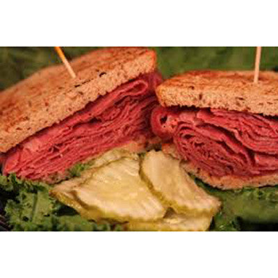 New York Hot Beef on Rye
