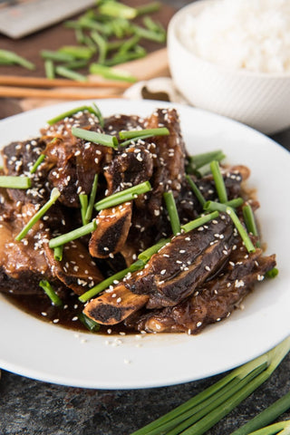 Kosher Cooked Chinese Short Ribs - Nussbaum's Kosher Butchery