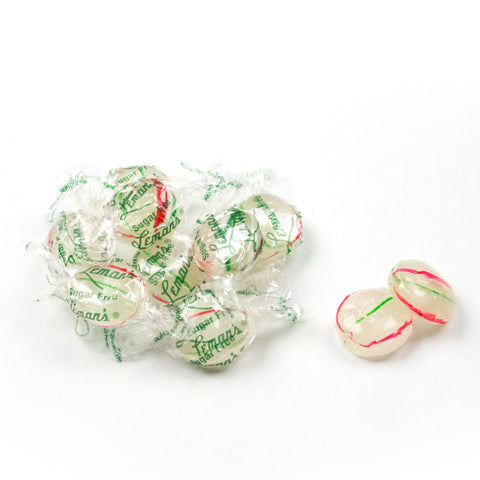 Sugar Free Leman's Mint Buttons (15 Bag Case)