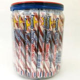 Red & White Mint Sticks 52 Count Jar