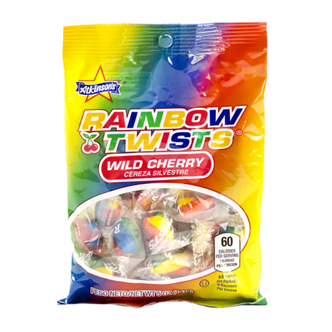 Rainbow Twists (5 oz. Peg Bag)