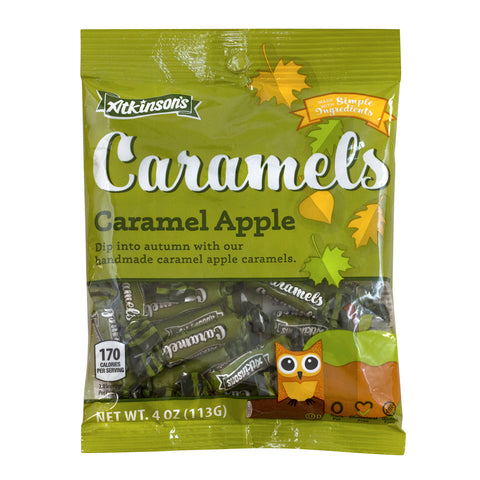 Caramel Apple Caramels 4 oz. Bag