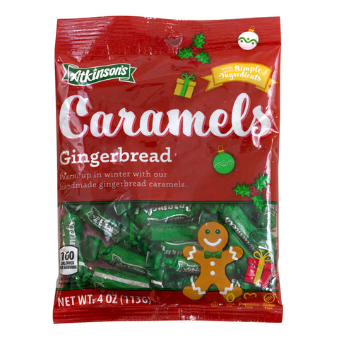 Gingerbread Caramels (Peg Bag)