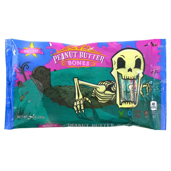 Peanut Butter Bar Skeleton Bones 12oz. Bag