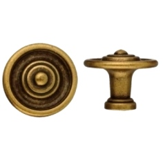 French Brass knob