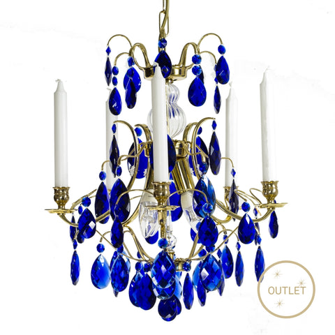 and full ip light turquoise lead brilliance chandelier glamorous crystal chandeliers blue lighting