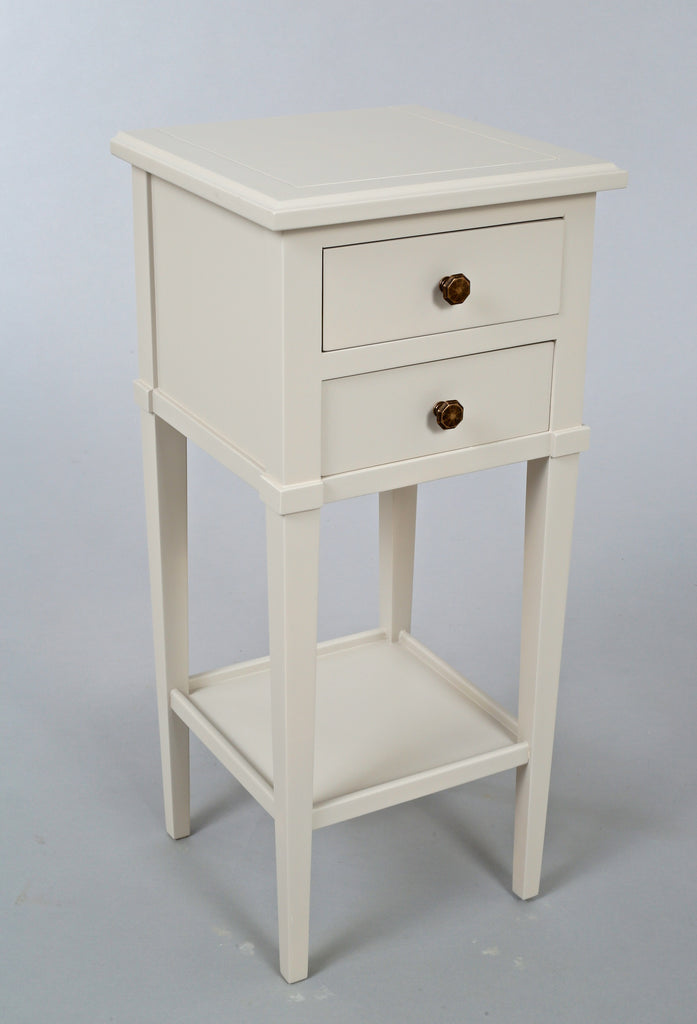 Narrow Bedside Table With Drawers Narrow Bedside Table