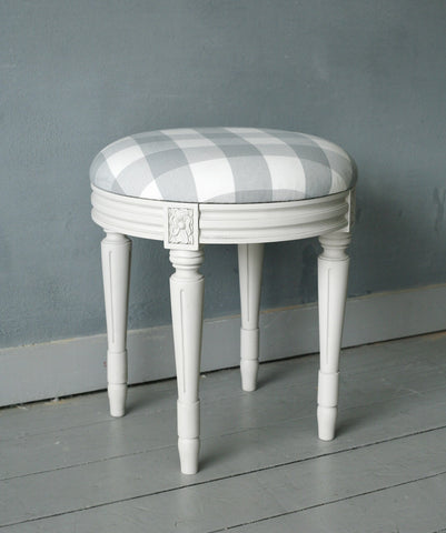 Round Dressing Table Stool Anna Beau
