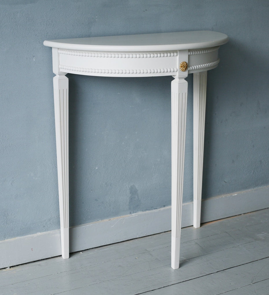 ... Half Moon Console Table; Scandinavian Demi Lune Console ...