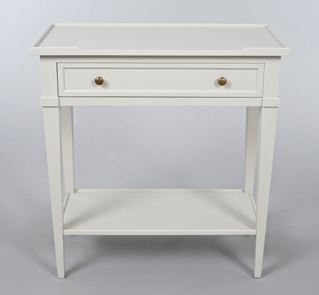 narrow white console table. White Narrow Console Table O