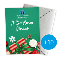 £10 Christmas Give A Gift Card - Christmas Dinner