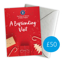 £50 Christmas Give A Gift Card - Befriending Visit