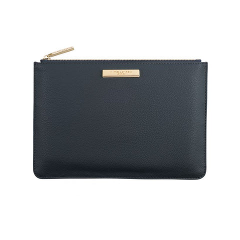 Katie Loxton Soft Pebble Perfect Pouch - Navy