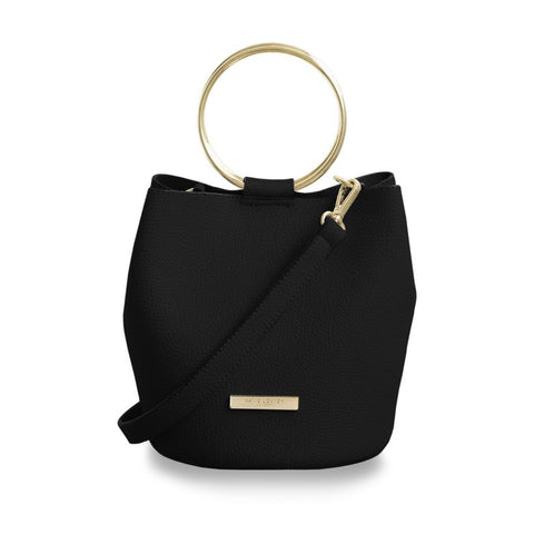 Katie Loxton Suki Mini Bucket Bag - Black