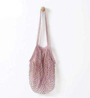 Sac en filet de coton : 2 coloris possibles