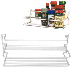 White  Double Spice Rack