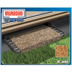 18 Wide  Imperial Blue  Wraparound Entry Step Rug