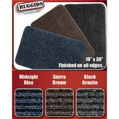 19 x 30  Midnight Blue  Ruggids Door Mat