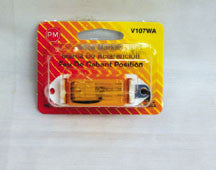 #107W  Amber  Mini Clearance Light