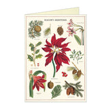 Holiday Greeting Card Set - Christmas Botanica - MeMe Antenna