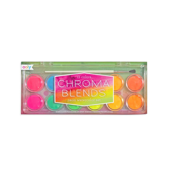 Chroma Blends Neon Watercolor Set - MeMe Antenna