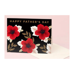 Greeting Card : Wild Flowers Dad Happy Father's Day - MeMe Antenna