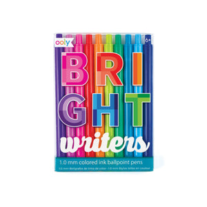Pen: Bright Writers Colored Ballpont Pens - MeMe Antenna
