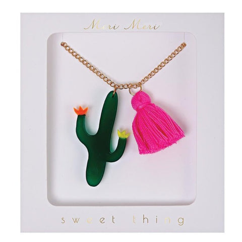Sweet Thing Jewelry Cactus Necklace - MeMe Antenna