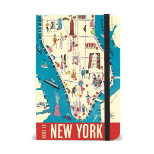 Small Notebook: New York City Map - MeMe Antenna