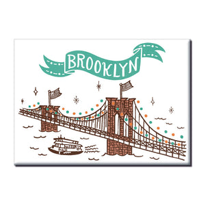 MeMe Antenna Magnet - Brooklyn Bridge by Bite n Kiss - MeMe Antenna