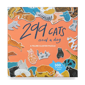 299 Cats (and a dog) A Feline Cluster Puzzle - MeMe Antenna